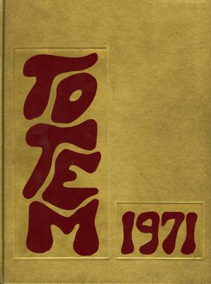 The Totem, Yearbook of McMurry College, 1971