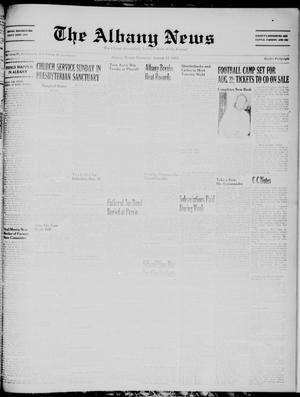 Primary view of object titled 'The Albany News (Albany, Tex.), Vol. 71, No. 48, Ed. 1 Thursday, August 11, 1955'.