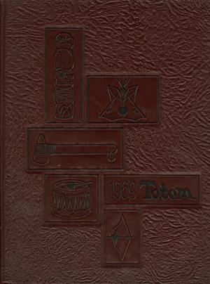Primary view of object titled 'The Totem, Yearbook of McMurry College, 1969'.