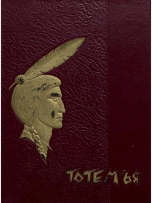 Primary view of object titled 'The Totem, Yearbook of McMurry College, 1968'.