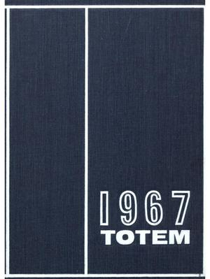 Primary view of object titled 'The Totem, Yearbook of McMurry College, 1967'.