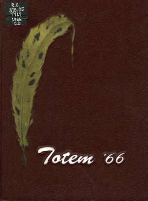 The Totem, Yearbook of McMurry College, 1966
