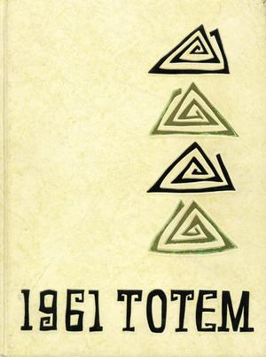 The Totem, Yearbook of McMurry College, 1961