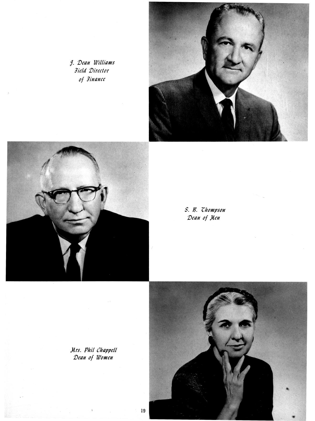 The Totem, Yearbook of McMurry College, 1959                                                                                                      19