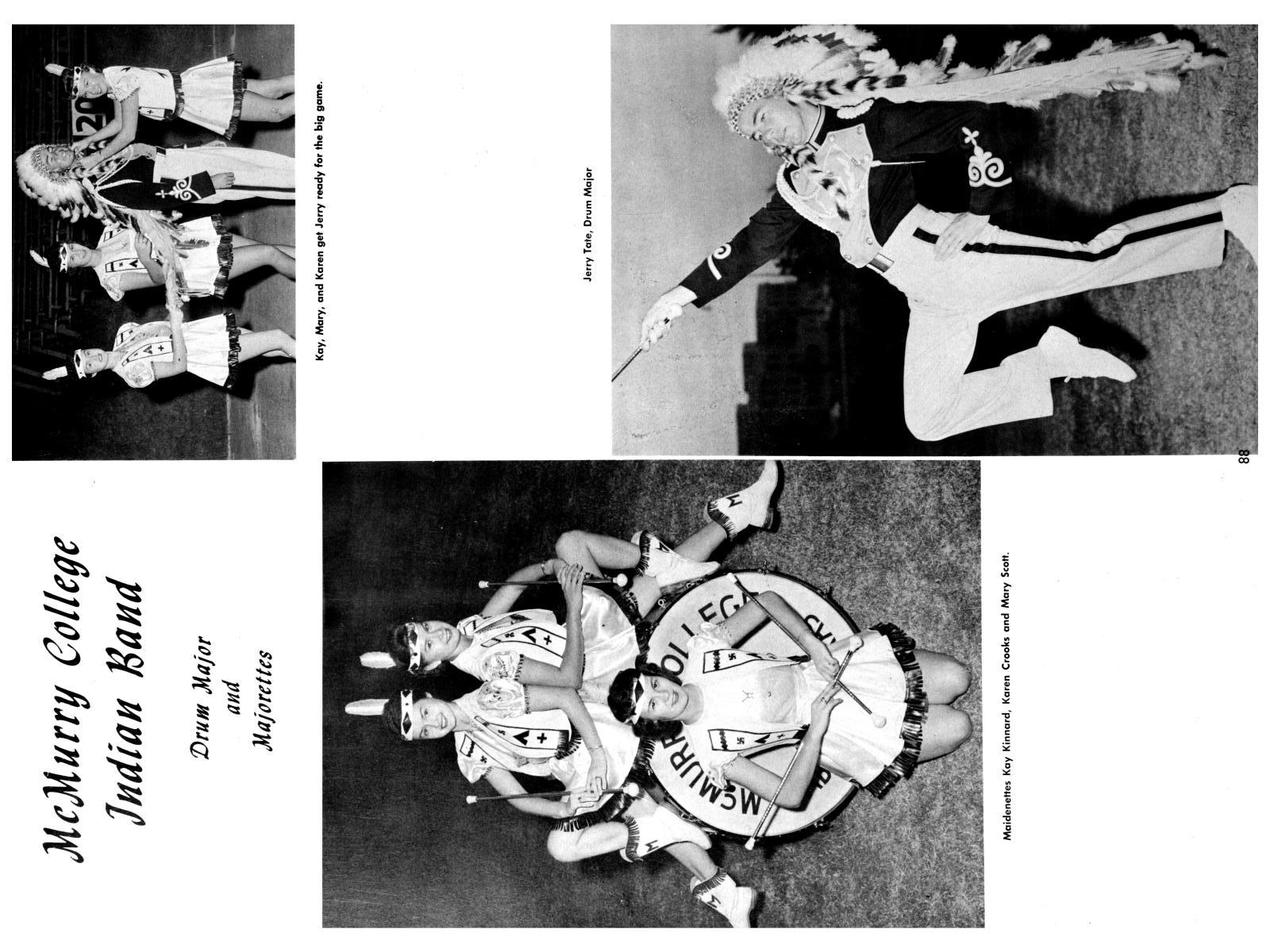 The Totem, Yearbook of McMurry College, 1959                                                                                                      88