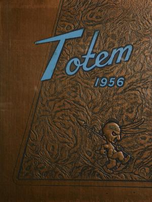 Primary view of object titled 'The Totem, Yearbook of McMurry College, 1956'.