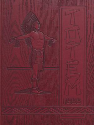 Primary view of object titled 'The Totem, Yearbook of McMurry College, 1955'.