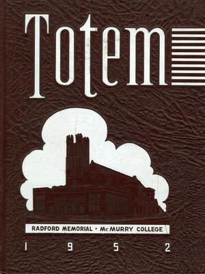 The Totem, Yearbook of McMurry College, 1952