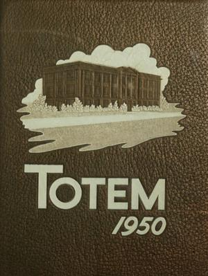 Primary view of object titled 'The Totem, Yearbook of McMurry College, 1950'.