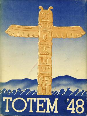 Primary view of object titled 'The Totem, Yearbook of McMurry College, 1948'.