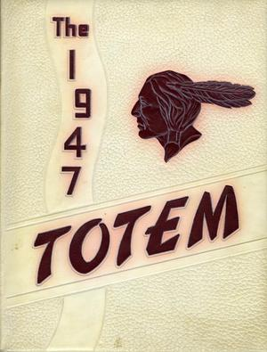 The Totem, Yearbook of McMurry College, 1947