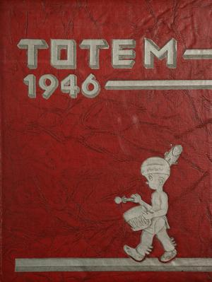 Primary view of object titled 'The Totem, Yearbook of McMurry College, 1946'.