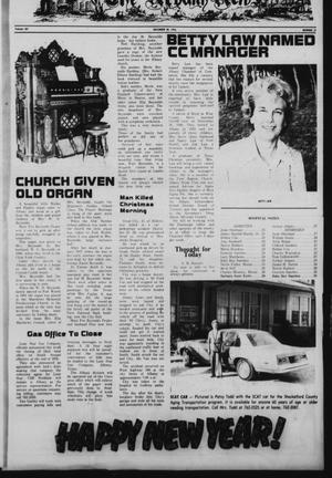 Primary view of object titled 'The Albany News (Albany, Tex.), Vol. 101, No. 27, Ed. 1 Wednesday, December 29, 1976'.