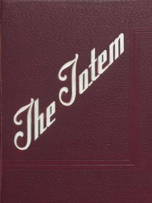 Primary view of object titled 'The Totem, Yearbook of McMurry College, 1945'.
