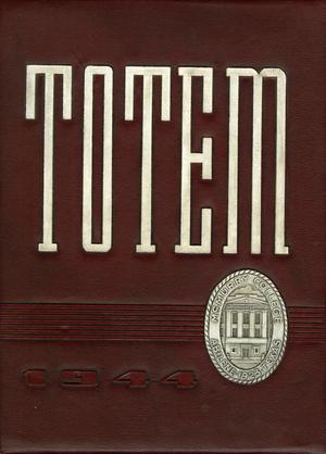 The Totem, Yearbook of McMurry College, 1944