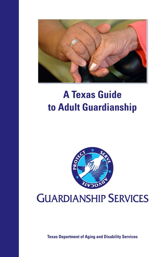 Adult Guardianship Services