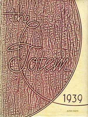 Primary view of object titled 'The Totem, Yearbook of McMurry College, 1939'.