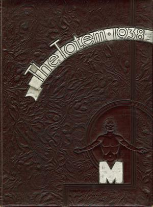 Primary view of object titled 'The Totem, Yearbook of McMurry College, 1938'.