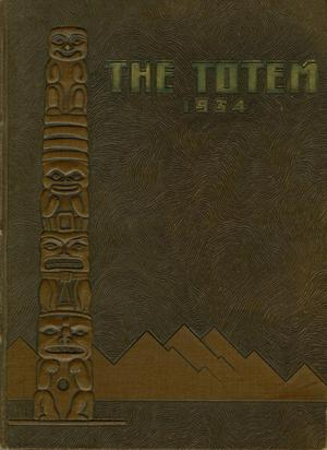 Primary view of object titled 'The Totem, Yearbook of McMurry College, 1934'.