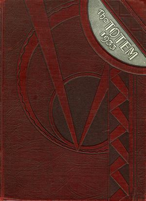 Primary view of object titled 'The Totem, Yearbook of McMurry College, 1933'.