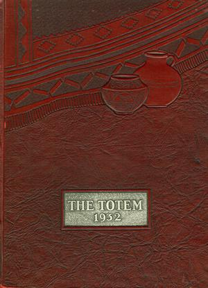 The Totem, Yearbook of McMurry College, 1932