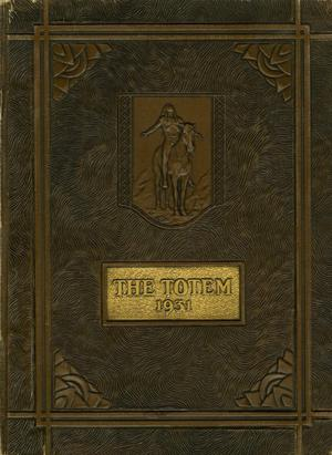 Primary view of object titled 'The Totem, Yearbook of McMurry College, 1931'.