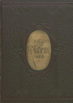 Primary view of object titled 'The Totem, Yearbook of McMurry College, 1928'.