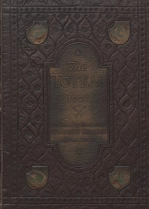 The Totem, Yearbook of McMurry College, 1927