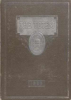 Primary view of object titled 'The Totem, Yearbook of McMurry College, 1926'.