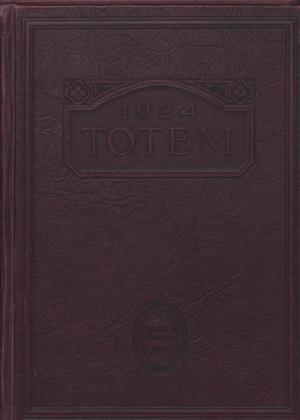 Primary view of object titled 'The Totem, Yearbook of McMurry College, 1924'.