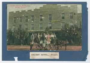 Primary view of object titled '[Orient Hotel Photograph #1]'.