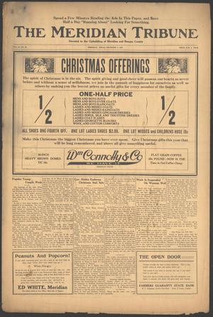 The Meridian Tribune (Meridian, Tex.), Vol. 26, No. 26, Ed. 1 Friday, December 3, 1920