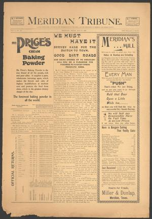Meridian Tribune. (Meridian, Tex.), Vol. 5, No. 49, Ed. 1 Friday, May 18, 1900
