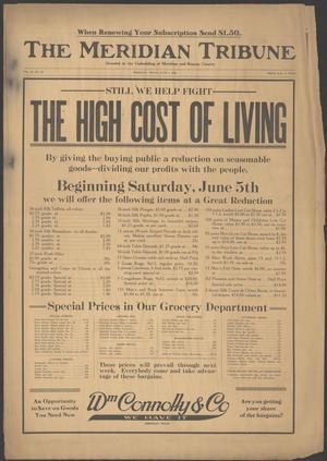 The Meridian Tribune (Meridian, Tex.), Vol. 25, No. 52, Ed. 1 Friday, June 4, 1920
