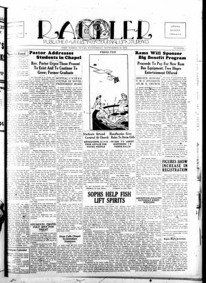 Rambler (Fort Worth, Tex.), Vol. 12, No. 2, Ed. 1 Wednesday, September 22, 1937
