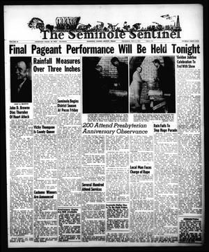 Primary view of object titled 'The Seminole Sentinel (Seminole, Tex.), Vol. 48, No. 45, Ed. 1 Thursday, October 6, 1955'.