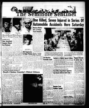 Primary view of object titled 'The Seminole Sentinel (Seminole, Tex.), Vol. 48, No. 39, Ed. 1 Thursday, August 25, 1955'.
