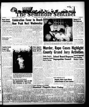 Primary view of object titled 'The Seminole Sentinel (Seminole, Tex.), Vol. 48, No. 37, Ed. 1 Thursday, August 11, 1955'.