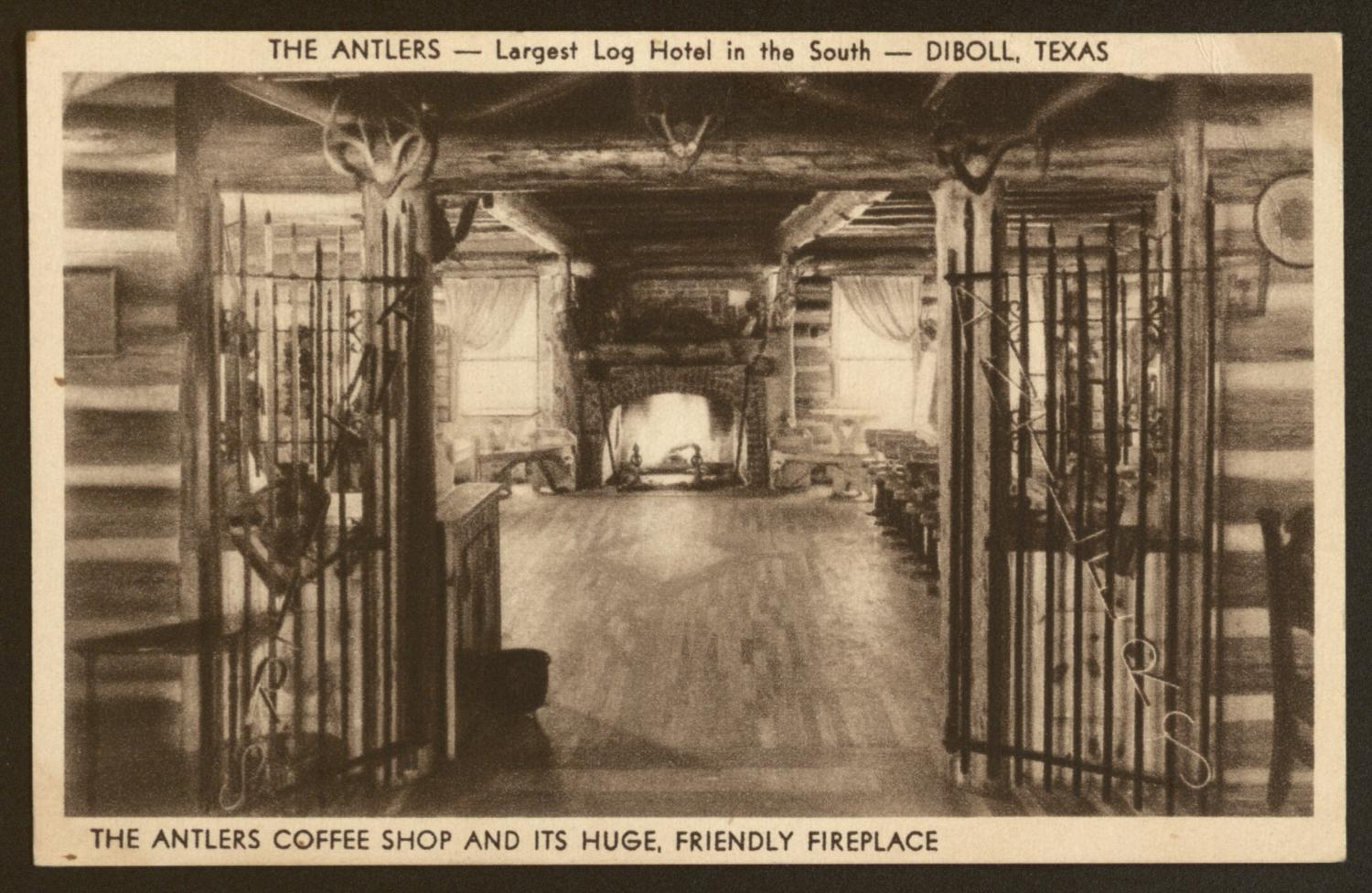 Antlers Hotel In Diboll Texas The Portal To History