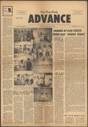 Palo Pinto County Advance (Mineral Wells, Tex.), Vol. 1, No. 47, Ed. 1 Thursday, May 7, 1964