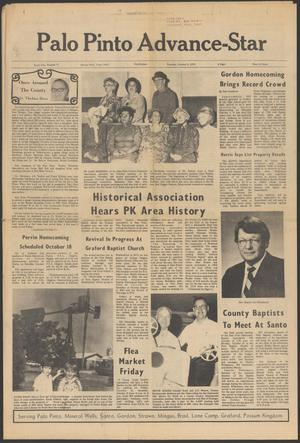 Palo Pinto Advance-Star (Mineral Wells, Tex.), Vol. 10, No. 71, Ed. 1 Thursday, October 9, 1975