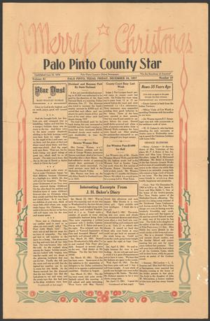 Primary view of object titled 'Palo Pinto County Star (Palo Pinto, Tex.), Vol. 61, No. 27, Ed. 1 Friday, December 24, 1937'.