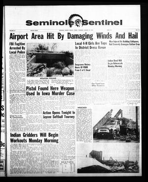 Primary view of object titled 'Seminole Sentinel (Seminole, Tex.), Vol. 57, No. 39, Ed. 1 Thursday, August 13, 1964'.