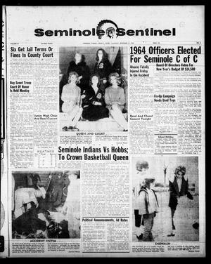 Primary view of object titled 'Seminole Sentinel (Seminole, Tex.), Vol. 57, No. 5, Ed. 1 Thursday, December 19, 1963'.