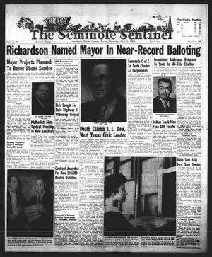 Primary view of object titled 'The Seminole Sentinel (Seminole, Tex.), Vol. 51, No. 19, Ed. 1 Thursday, April 3, 1958'.