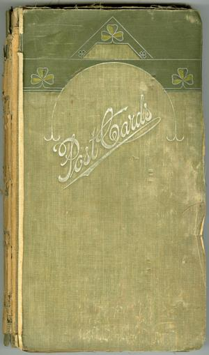 Primary view of object titled '[Photograph Album of Alice Bassano Dill]'.