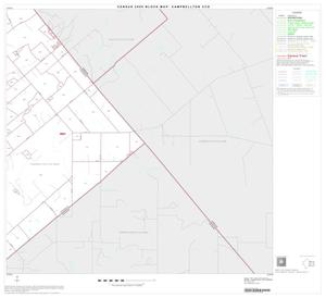 Primary view of object titled '2000 Census County Subdivison Block Map: Campbellton CCD, Texas, Block 6'.