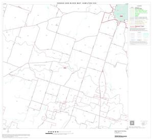 Primary view of object titled '2000 Census County Subdivison Block Map: Hamilton CCD, Texas, Block 6'.