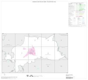Primary view of object titled '2000 Census County Subdivison Block Map: Palestine CCD, Texas, Index'.