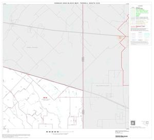 Primary view of object titled '2000 Census County Subdivison Block Map: Terrell South CCD, Texas, Block 3'.